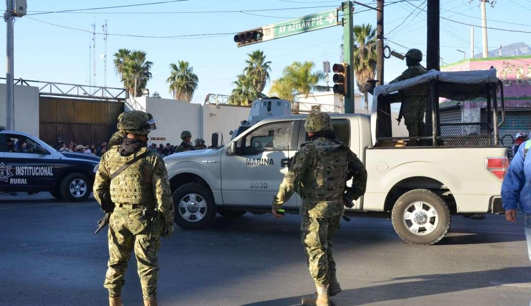 Operativo en penal de Topo Chico. (AP, archivo)