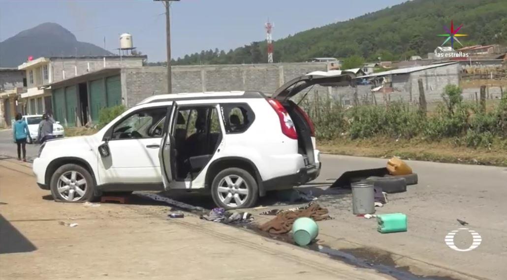 Daños en Arantepacua, Michoacán. (Noticieros Televisa)