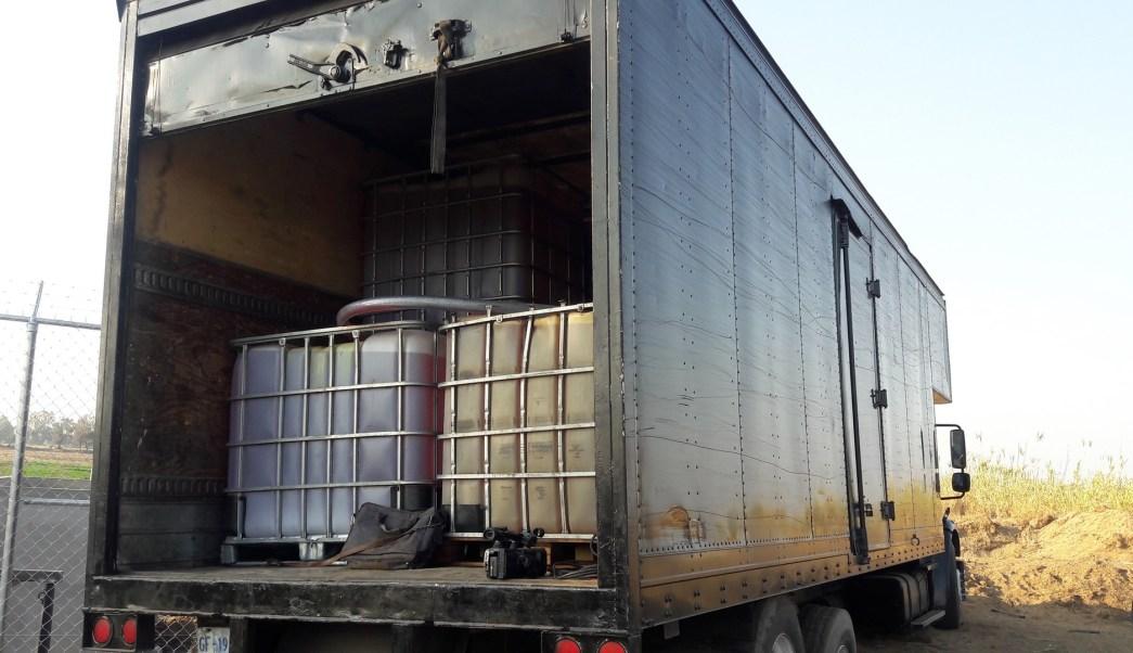 Aseguran 21 mil litros de combustible robado en Guanajuato (Noticieros Televisa)