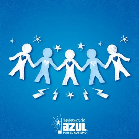 Con un diagnóstico oportuno, que se puede realizar desde el año y medio de vida, pueden desarrollar una vida normal. (Facebook: Iluminemos de Azul)