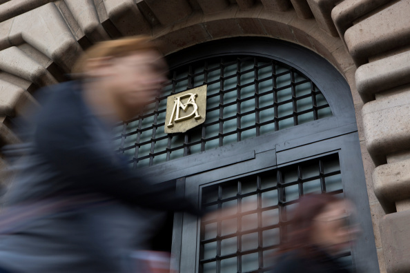 Detalle de la puerta del Banco de México. (Getty Images)