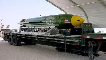 La Madre de todas las Bombas, 'Mother Of All Bombs', MOAB, (AP, archivo)