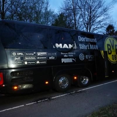 Confirman que tres explosiones afectaron autobús del Borussia Dortmund