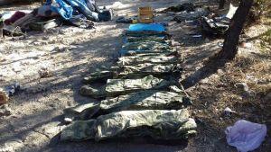 Localiza FGE y Ejército campamento de un grupo criminal. (Fiscalía de Chihuahua)