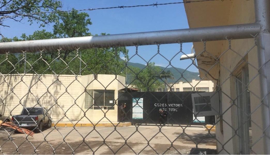 Por la mañana se escucharon detonaciones de arma de fuego al interior de penal de Ciudad Victoria, Tamaulipas. (Twitter @subrayadomx)