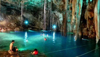 Cenotes, basura, buzos, limpieza, Yucatán, Mérida