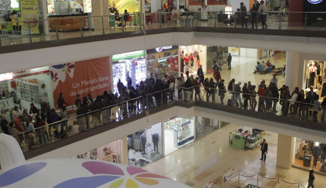 Centro Comercial Santafé. (Twitter: @SantafeMiMundo)