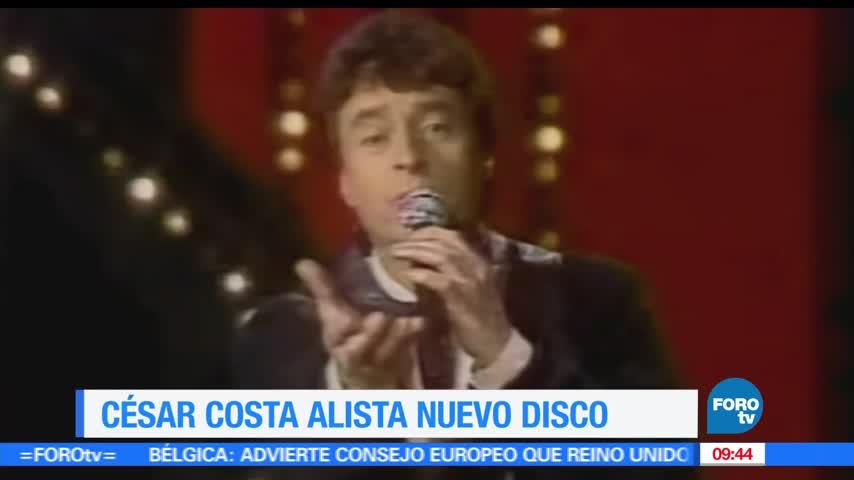 César Costa alista nuevo disco con temas inéditos