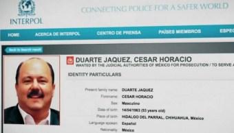 César Duarte, exgobernador de Chihuahua. (Noticieros Televisa)