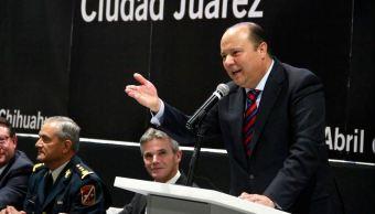 El exgobernador del PRI de Chihuahua, César Duarte (Twitter @GoberDuarte)