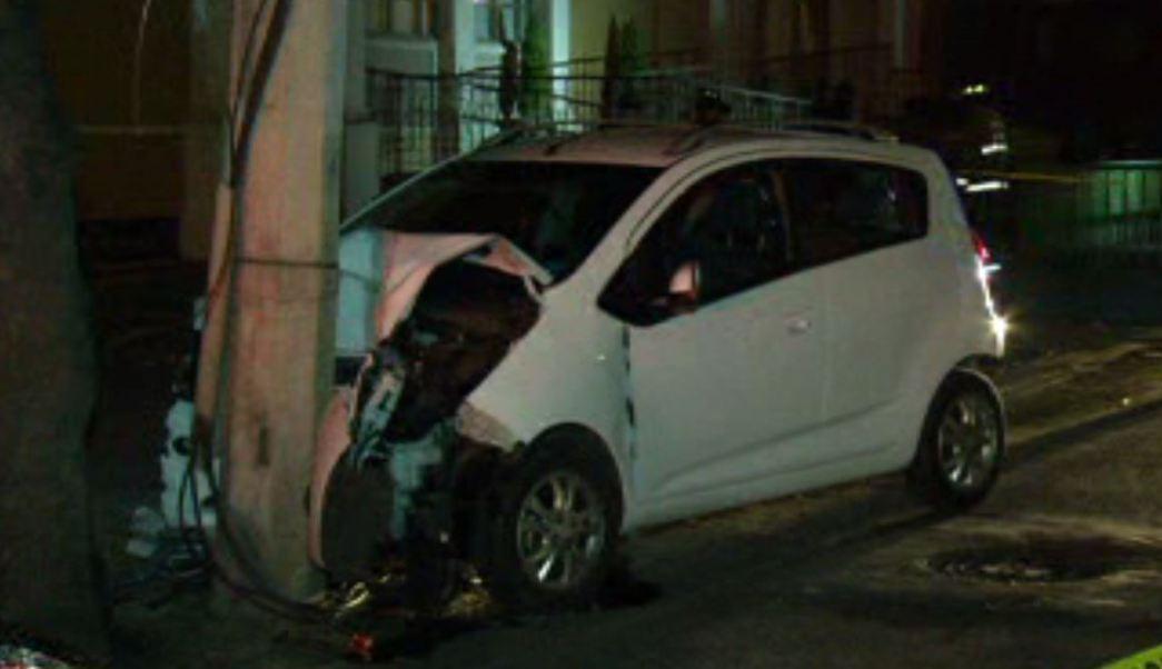 Choque en Tlalpan causa apagón. (Noticieros Televisa)
