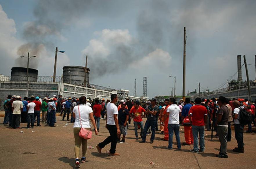 Se cumple un año de la explosión de la planta Clorados 3 del complejo Pajaritos en Coatzacoalcos, Veracruz. (Getty/Archivo)