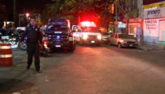 Los presuntos delincuentes intercambiaron disparos con policías (Noticieros Televisa)