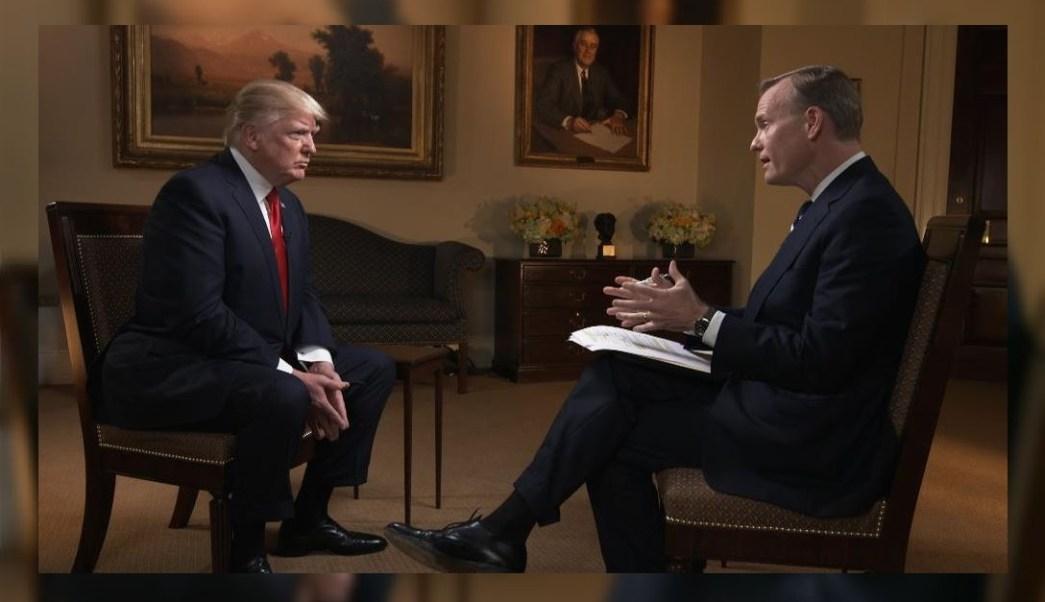 Donald Trump, fue entrevistado en el programa 'Face the Nation'. (@FaceTheNation)
