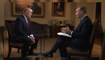 Donald Trump, fue entrevistado en el programa 'Face the Nation'. (@FaceTheNation)