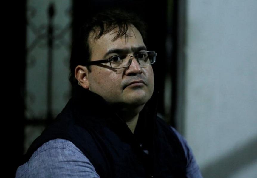 El exgobernador de Veracruz, Javier Duarte, fue detenido en Guatemala (Reuters)