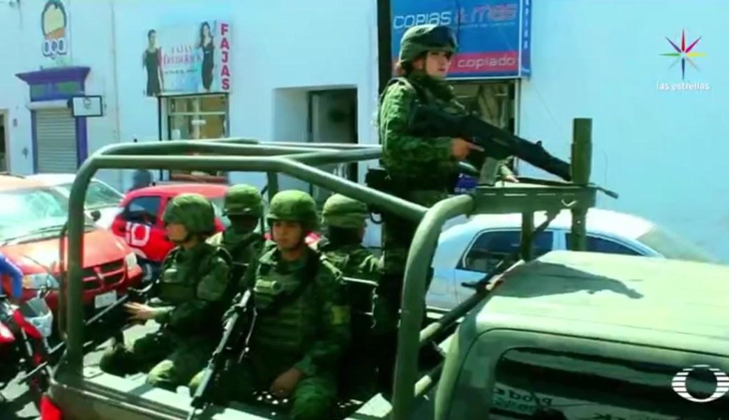 Ejército mexicano en Sinaloa. (Noticieros Televisa)