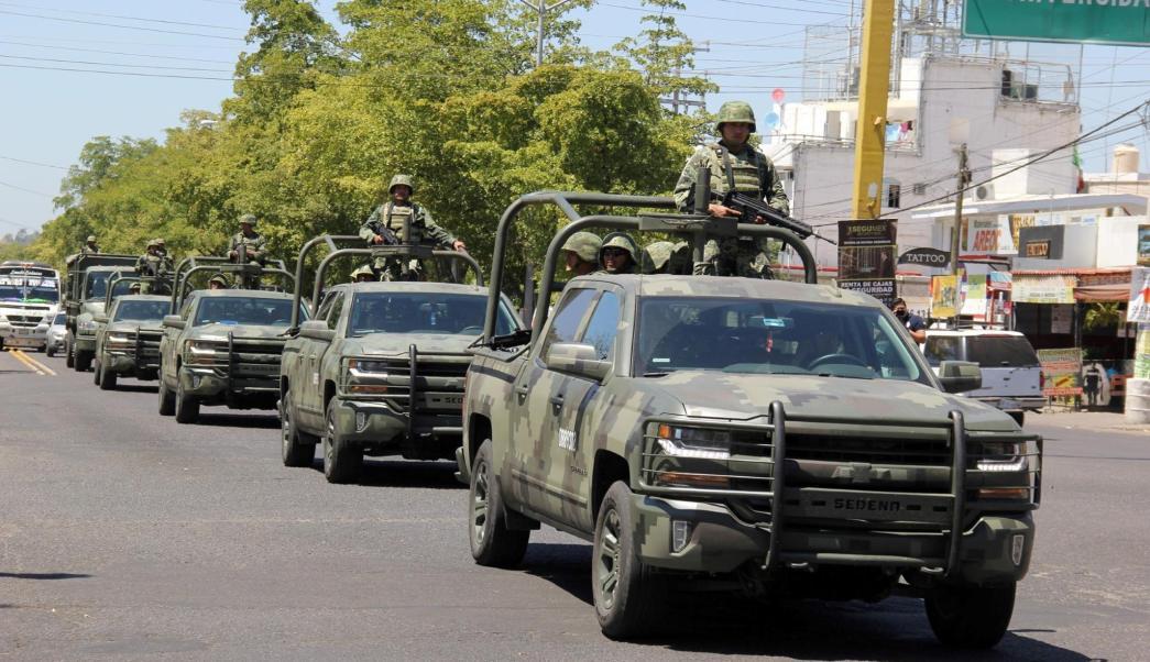Operativos del Ejército en Sinaloa. (Facebook-SSP Sinaloa, archivo)