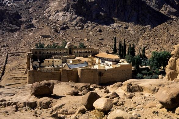 El ataque fue contra un puesto de control cerca del monasterio de Santa Catalina, en el sur del Sinaí, en Egipto.