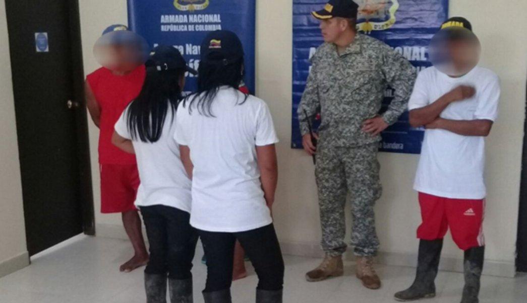 El Comité Internacional de la Cruz Roja recibió a las 5 personas retenidas por grupos armados de Colombia.