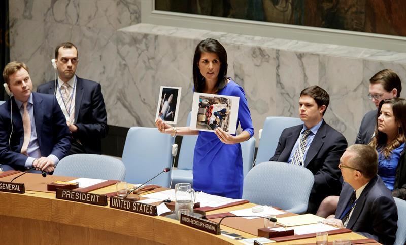 El Consejo de Seguridad de la ONU no llegó a un acuerdo para condenar y pedir una investigación del ataque químico en Siria. (EFE)