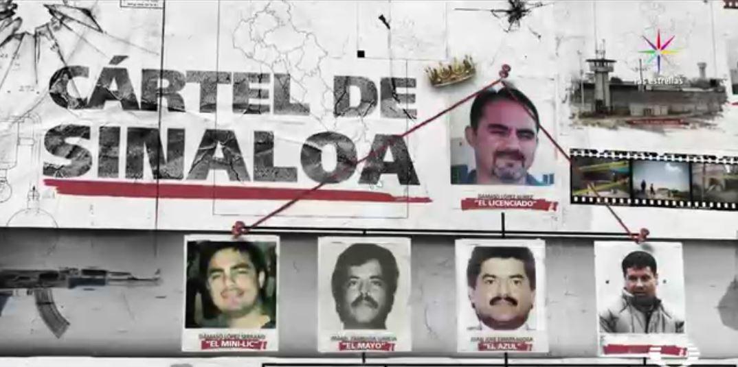 'El Licenciado', es la nueva cabeza del Cártel de Sinaloa. (Exclusiva Noticieros Televisa)
