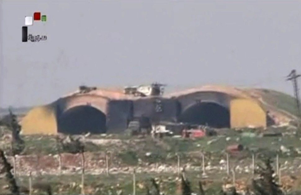 El objetivo del ataque de Trump fue la base aérea Shayrat, ubicada en la provincia de Homs. (AP)
