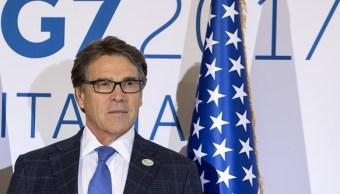 El secretario de Energía de Estados Unidos, Rick Perry, dijo que le sugerirá al presidente Donald Trump seguir en el Acuerdo de París.