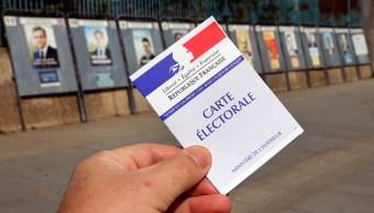 Electores franceses acudirán a las urnas para la primera vuelta. (Getty Images)