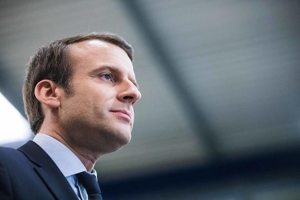 Emmanuel Macron fue ministro de finanzas de Francia. (Getty images, archivo)
