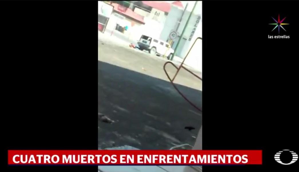 Tras uno de los enfrentamientos decomisaron más de una tonelada de marihuana. (Noticieros Televisa)