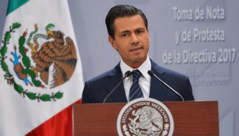 El presidente Peña Nieto se refiere a la captura de los exgobernadores Tomás Yarrington y Javier Duarte. (Presidencia de la República)