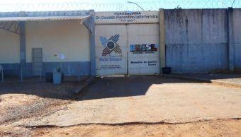 Entrada de la cárcel Dr. Osvaldo Florentino Leite Ferreira, en Brasil.