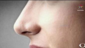 La nariz tiene funciones de gran relevancia en la vida diaria, ya que tiene una conexión importante con la memoria. (Noticieros Televisa)