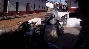 Explosión en municipio de Chiquilistlán, Jalisco. (Twitter @TelevisaGDL)