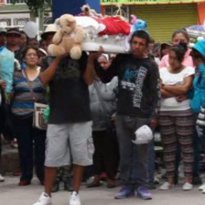 Sepultan a Toñito, el niño que cayó a un pozo en Guanajuato