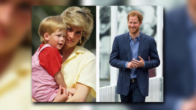 El príncipe Enrique tenía 12 años cuando el automóvil que llevaba a su madre, la Princesa Diana Spencer, se estrelló en un túnel de París el 31 de agosto de 1997 (Getty Images)