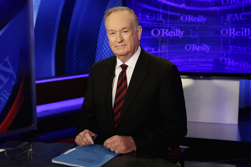 "El presentador del canal Fox News Bill O'Reilly del programa ""The O'Reilly Factor"" (AP)"