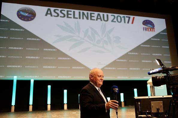 François Asselineau. (Getty Images)