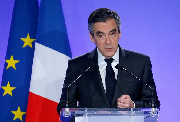 Francois Fillon. (Getty Images)