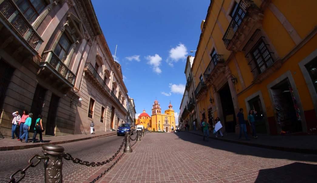Calles de Guanajuato. (Notimex, archivo)