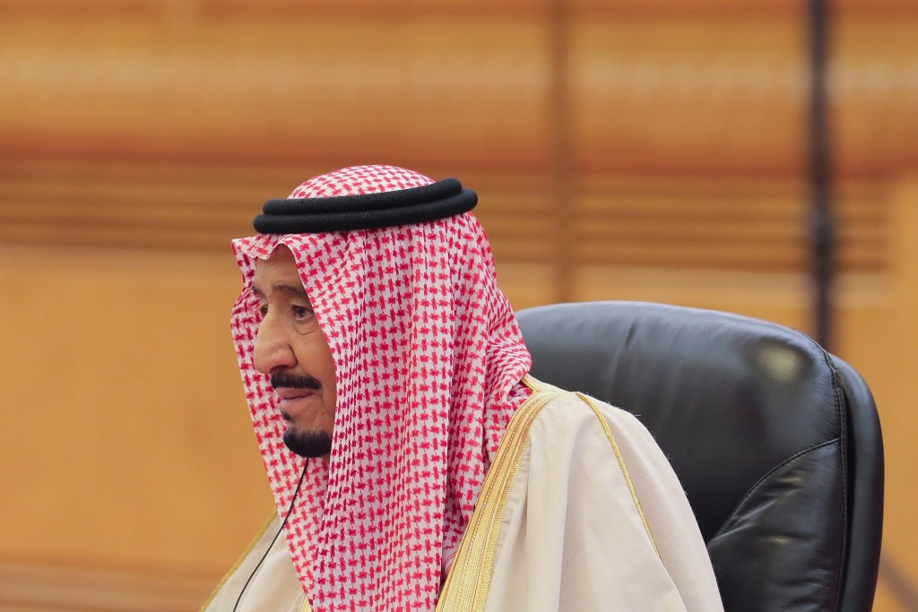 Salmán bin Abdulaziz.