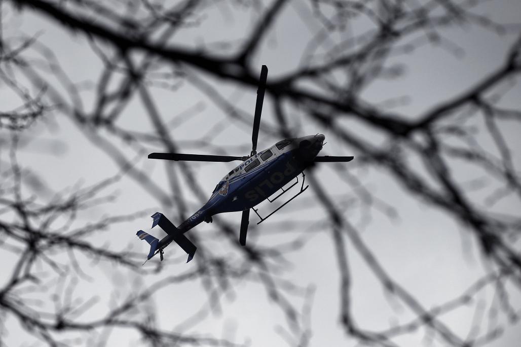 Helicóptero de la Policía en Turquía. (AP, archivo)