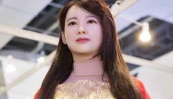 La robot humanoide china Jia Jia (Twitter @PDChina)La robot humanoide china Jia Jia (Twitter @PDChina)