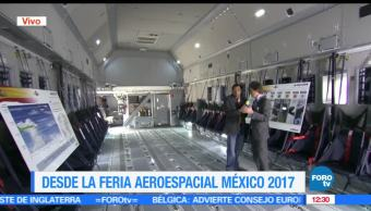 Imágenes de un avión Hércules, exhibido en la Feria Aeroespacial México 2017 (2)
