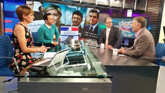 Jorge Castañeda en la mesa de Despierta con Loret. (Twitter, @NTelevisa_com)
