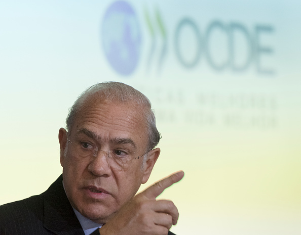 José Ángel Gurría, secretario general de la OCDE. (Getty Images)