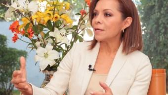La candidata del Partido Acción Nacional (PAN) a la gubernatura del Estado de México, Josefina Vázquez Mota (Notimex)