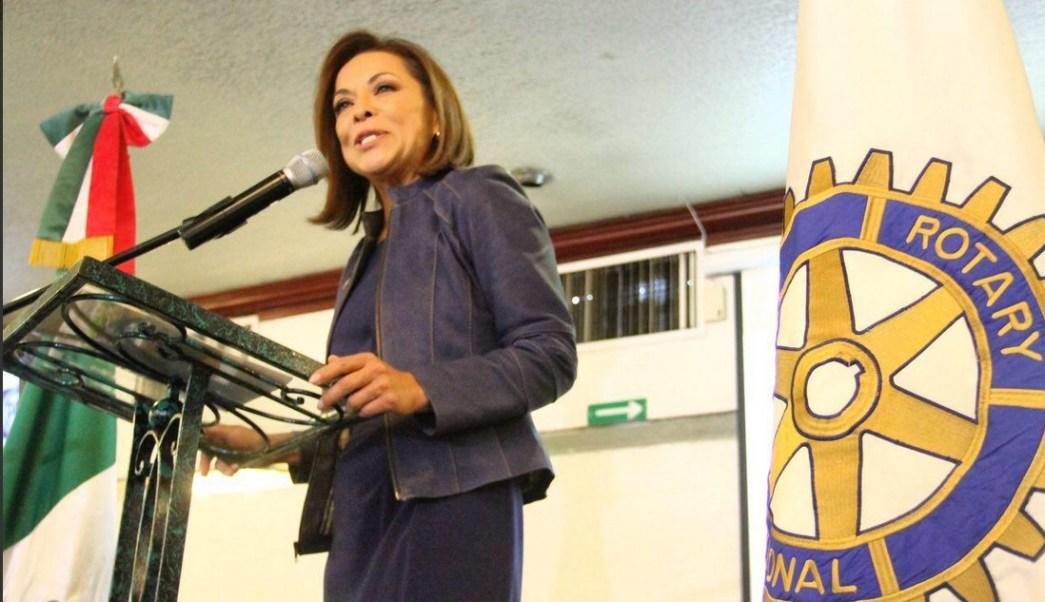 Josefina Vázquez Mota, candidata del PAN al Gobierno del Estado de México, visitó Naucalpan y Tlalnepantla. (Twitter @JosefinaVM)