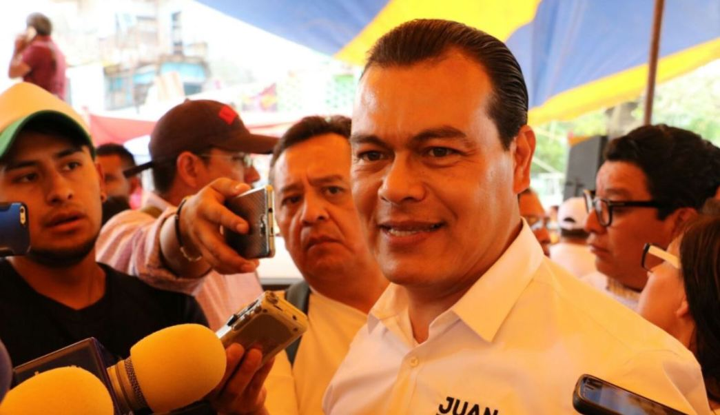 Zepeda realizó campaña en Tultitlán, Coacalco y Tultepec (Twitter @JuanZepeda_)